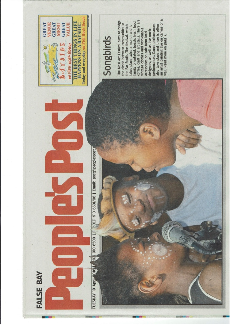 News Paper front page